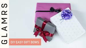 DIY Easy Handmade Ribbon Gift Bows