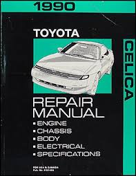 1990 toyota celica wiring diagram manual original 1990 toyota celica repair shop manual original