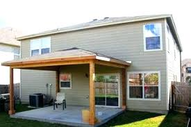 patio cover cost covered porch by how much basic pleasing 8