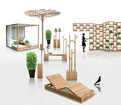 Small Picture Wooden Outdoor Furniture Designs by Deesawat Green Wall Stick