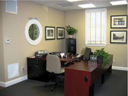 ... Excellent Office Decoration Ideas Office Room With Desk And Chair And  Frames And Carpet ...