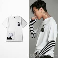 Gd T Symbols Chart New Designer G Dragon T Shirt Gd Photo T Shirts Short Sleeve White Men Women Tshirt Thdx0371xx
