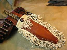 Knife Sheath Patterns Custom Cowboy Knife Sheath Basket Stamped Medium Oiled Leather Knife Sheath