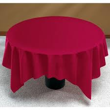 linen like burdy round table cover party at lewis elegant party supplies plastic dinnerware paper plates and napkins