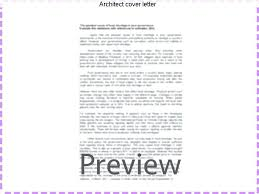 Sample Information Architect Cover Letter – Resume Ideas Pro
