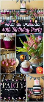40th Birthday Decorations For Her 17 Best Ideas About 40th Birthday Decorations On Pinterest 40th