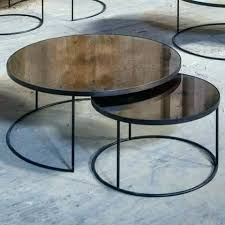 marble nesting coffee table marble nesting coffee table nesting coffee table bronze round nesting coffee table