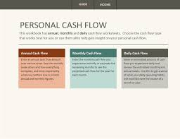 Online Cash Flow Statement Calculator Simple Personal Cash Flow Statement