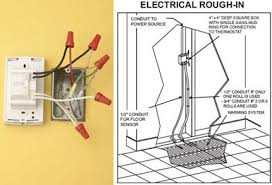 wiring an electric floor heating system electrical online Wiring Diagram For Underfloor Heating Thermostat Wiring Diagram For Underfloor Heating Thermostat #67 2Wire Thermostat Wiring Diagram