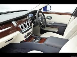2013 Rolls Royce Ghost Mazarine Blue - Interior | HD Wallpaper #5