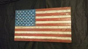 weathered wooden american flag distressed american flag rustic furniture rustic country decor usa