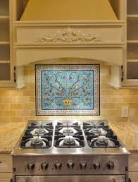 Mural Tiles For Kitchen Decor Tree of life backsplash kitchen backsplash 100 tiles design 95