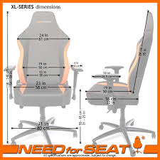 needforseat usa computer office gaming chair dimensions dimensions xl s