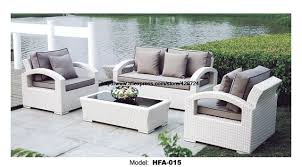 white garden furniture.  Furniture White Rattan Sofa Purple Cushions Garden Outdoor Patio Furniture  Swing Pool Table Chair For L