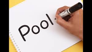 Pool Word How To Turn Word Pool Into A Cartoon Swimming Pool Text To Picture