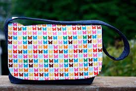 Messenger Bag Pattern Custom Zaaberry Kid's Messenger Bag Tutorial
