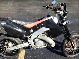 street legal honda cr500 250 supermoto panjo find of the rideapart