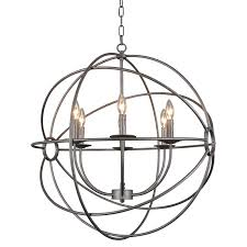 Hayneedle Lighting Sale Moes Home Collection Rossana Rm 1022 Caged Chandelier From