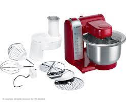bosch kitchen machine in red color