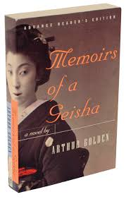 memoirs of a geisha advance reading copy arthur golden memoirs of a geisha advance reading copy