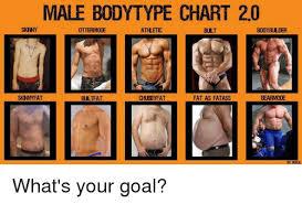Body Type Chart Male Bodytype Chart 20 Skny Ottermode Burt Bodybuilder
