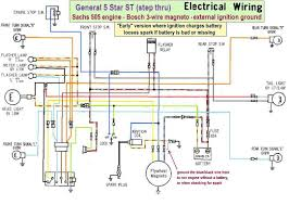 wiring diagrams a to z for thee myrons mopeds wiring diagram and n motorcycle wiring diagram diagrams and schematics