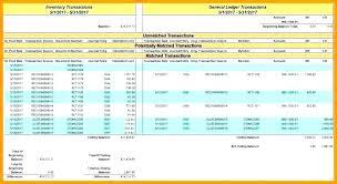 Business Ledger Templates Excel Ledger Templates 9 General Account Reconciliation Template