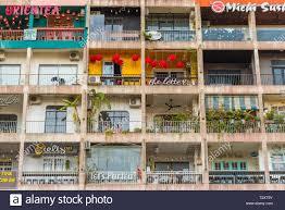 Ho Chi Minh City Vietnam February 18 2019 The Cafe Apartment A