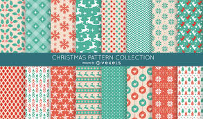 Christmas Pattern Interesting 48 Seamless Christmas Pattern Collection Vector Download