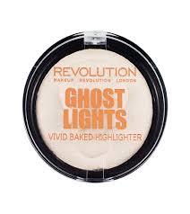 makeup revolution baked highlighter ghost lights