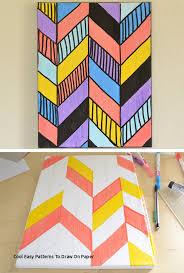 cool easy patterns to draw on paper 45 beautiful diy wall art ideas for your home