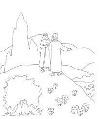 Temukan pin ini dan lainnya di coloring pages oleh chantelle pratt. Abraham And Lot Coloring Home