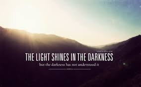 Light And Dark Quotes Enchanting The Light Shines In The Darkness Pictures Photos And Images For