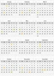 2019 Holidays Calendar Usa