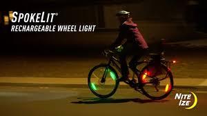 Spokelit Wheel Light Spokelit Rechargeable Wheel Light Disc O Select