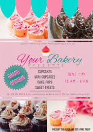 220 Customizable Design Templates For Bakery Postermywall