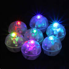 <b>10pcs/lot Colorful LED</b> Light Up Balloon Mini Flash Lamps Toys For ...