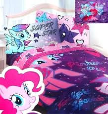 my little pony sheet sets bedding set star purple twin double