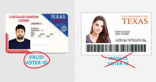 Texas Id's Not Allows Id Student Law Updated Voter Gun Licenses Progress