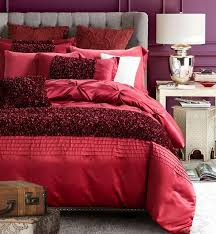 red luxury bedding set designer bedspreads cotton silk sheets quilt duvet cover bed in a bag linen full queen king double size