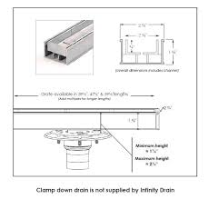 infinity drain installation. Perfect Drain View Product Specs With Infinity Drain Installation R