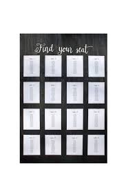 Wedding Standing Wood Seating Chart For 350 Guests Overall