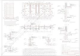Курсовые работы Фундаменты и основания Чертежи РУ Курсовой проект Проектирование ленточного и свайного фундаментов жилого дома