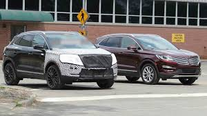 2018 lincoln mkc redesign. interesting lincoln 2018lincolnmkcspyshotsexterior in 2018 lincoln mkc redesign