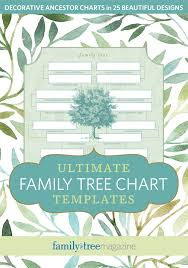 Family Tree Charts To Download Ultimate Family Tree Chart Templates Download
