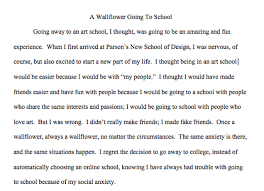 a wallflower going to school narrative essay wandering wallflower picture