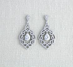 vintage chandelier earrings rose gold chandelier earrings