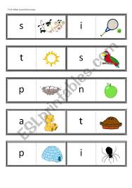 Letterland uses characters (pictograms) to bring the letters and spelling patterns to life. First Letter Sound Dominoes Satpin For Use With Jolly Phonics Book 1 Esl Worksheet By Teachertonyinchina