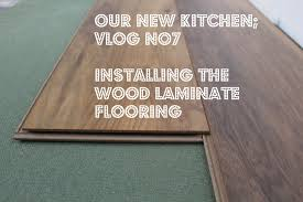 Small Picture Installing wood laminate flooring new kitchen video No7 YouTube