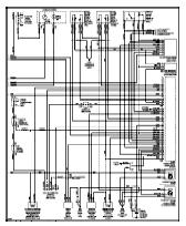 wiringhome original color laminated wiring diagram circuit knowledge wiring diagrams on mitsubishi galant diamante eclipse mirage montero wiring diagram